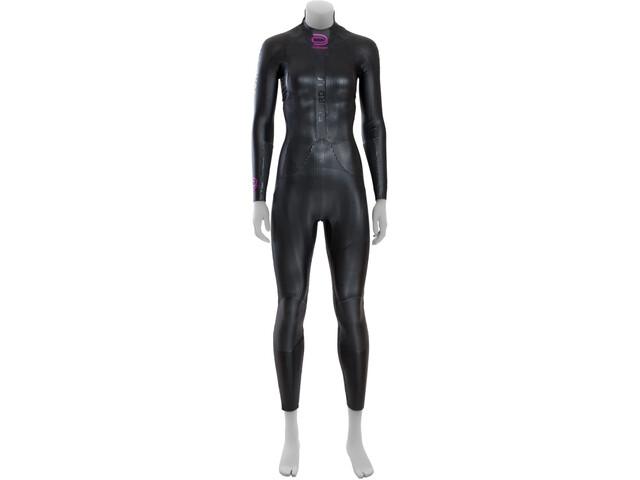 deboer Fjord 1.0 Pianka pływacka Kobiety, czarny